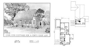 historic cape cod floor plans historic plans eleanor raymond cottage for a forty lot