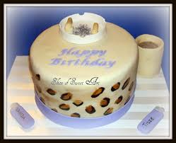 cheetah birthday cake for 2 coffee loving smokers li u2026 flickr