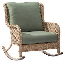 White Patio Rocking Chair by Home Decor Beautiful Wicker Rocker Pics Wicker Swivel Rocker Set