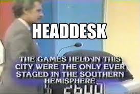 Head Desk Meme - headdesk headdesk jeopardy contestant quickmeme