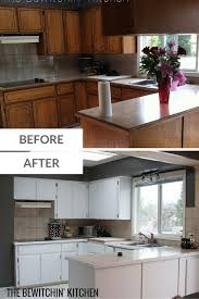 benjamin moore cabinet coat painting kitchen cabinets transforming dated 1970s oak cupboards