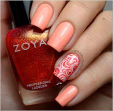 is this the most perfect stamping mani you u0027ve ever seen pink