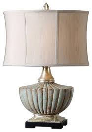 Uttermost Table Uttermost Billy Moon Table Lamp Heavily Antiqued Silver