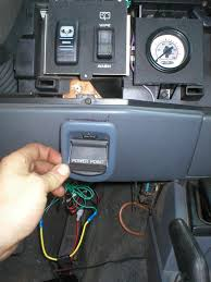 jeep cherokee xj dashboard nash u0027s off road install of air gauge and power point in jeep cherokee