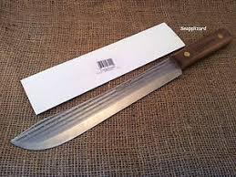 ontario kitchen knives ontario knife hickory 10 large butcher knife kitchen