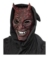 smoldering devil light effect mask masks
