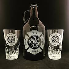 department growler fireman gift fireman