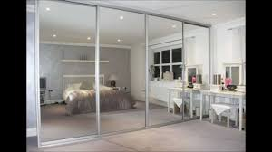 Sliding Door Bedroom Wardrobe Designs Mirrored Wardrobe With Sliding Door Closet Also Panel Door Mirror