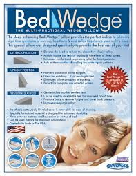 Wedge Pillows For Bed Innomax America U0027s Finest Sleep Products Bed Wedge The Multi