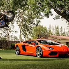 Lamborghini Aventador Orange - download wallpaper 2048x2048 lamborghini aventador lp700 4