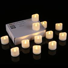 fake tea light candles homemory realistic and bright flickering bulb battery operated