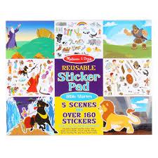 melissa u0026 doug reusable sticker pad bible stories hollar so