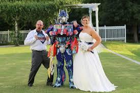 themed weddings transformer and pac themed wedding popsugar tech