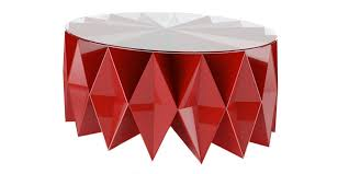 moschino love altreforme colletto coffee table red the longest