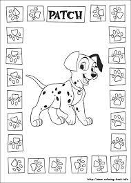 73 101 dalmatians coloring pages images