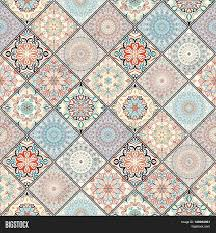 rich tile ornament colorful image u0026 photo bigstock