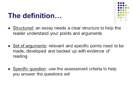 theme question definition essay writing definition an essay is a structured set of arguments