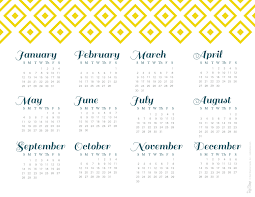 printable calendar yearly 2014 2014 year at a glance calendars red st