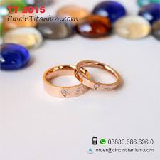 model cincin titanium model cincin tunangan warna emas tt 2015 toko cincin titanium