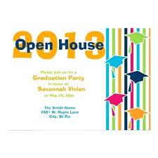 graduation open house invitations ideas graduation party open house invitation wording for open