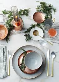 10 inviting thanksgiving table setting ideas copper accents table