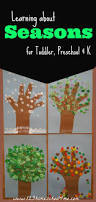 learning about the 4 seasons great theme for toddler preschool