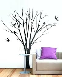 home decorating craft projects leaning tree wall decal big wall art stickers paper craft projects