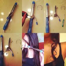 wand curled hairstyles how to make your own curling wand from an old pair of curling