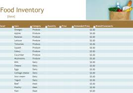 Kitchen Inventory Spreadsheet by Food Inventory Food Inventory Spreadsheet