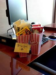 31 date on me tickets popcorn for a great employee