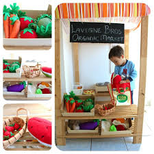 Build Your Own Wooden Toy Garage by Best 25 Play Market Ideas On Pinterest Play Grocery Store Kids