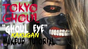 tokyo ghoul ghoul eye makeup tutorial no sclera contacts needed