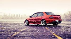 cars mitsubishi lancer rain cars mitsubishi lancer evolution viii vehicles mitsubishi