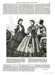 mod鑞e dressing chambre la mode illustrée 1863 robe de chambre wrapper on right front