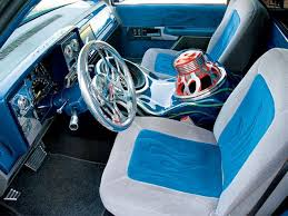Chevy Truck Interior 1993 Chevy C1500 Custom Trucks Truckin U0027 Magazine