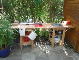 garden kitchen ideas outdoor indoor kitchen for garden shed