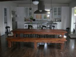 Rustic Dining Tables Gallery One Long Kitchen Tables House Exteriors - Long kitchen tables