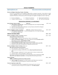 Resume For Financial Analyst System Analyst Job Descriptions Supervisor Job Description For
