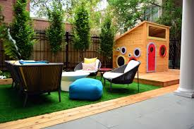Patio Furniture Chicago by Back Yard Landscape Design Urban Artificial Turf Outdoor
