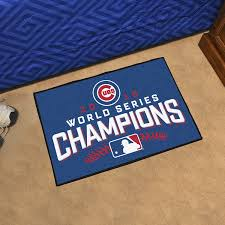 Miami Dolphins Rug Amazon Com Chicago Cubs 2016 World Series Champions Starter Rug