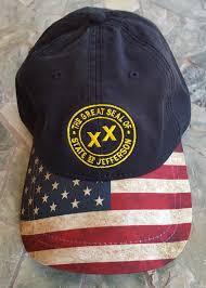 Jefferson State Flag State Of Jefferson Hats Soj Seal Many Color Options U2013 Jefferson