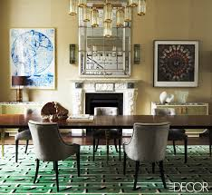Dining Room Decorating Ideas 13 Green Rooms With Serious Designer Style