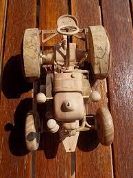 tracteur en bois lozère modélisme maquettes de tracteurs anciens en bois