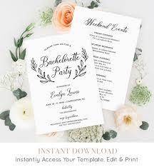 bachelorette party invitation template printable bachelorette