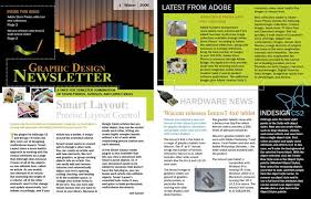 100 indesign newsletter templates free table of contents