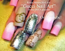 robin moses nail art sheer matte black nails with floral lace