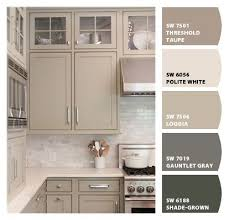 taupe beige painted kitchen cabinets cabinet colors pinterest
