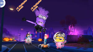 despicable me 2 minion rush astronaut and evil minion vs meena