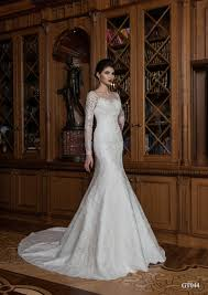 trumpet wedding dresses 044 gorgeous handmade mermaid trumpet wedding dress with lace