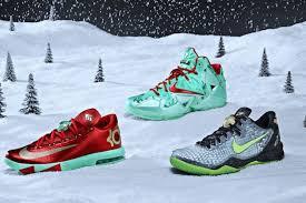 kd 6 christmas nike unveils lebron 11 kd vi and 8 christmas pack